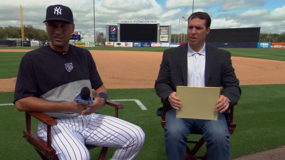 Watch Mark Teixiera blow his big interview with Derek Jeter