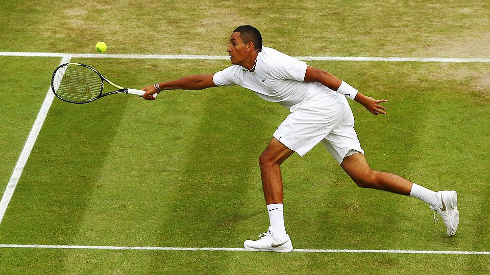 Success at Wimbledon hasn't changed Nick Kyrgios' easy going personality.