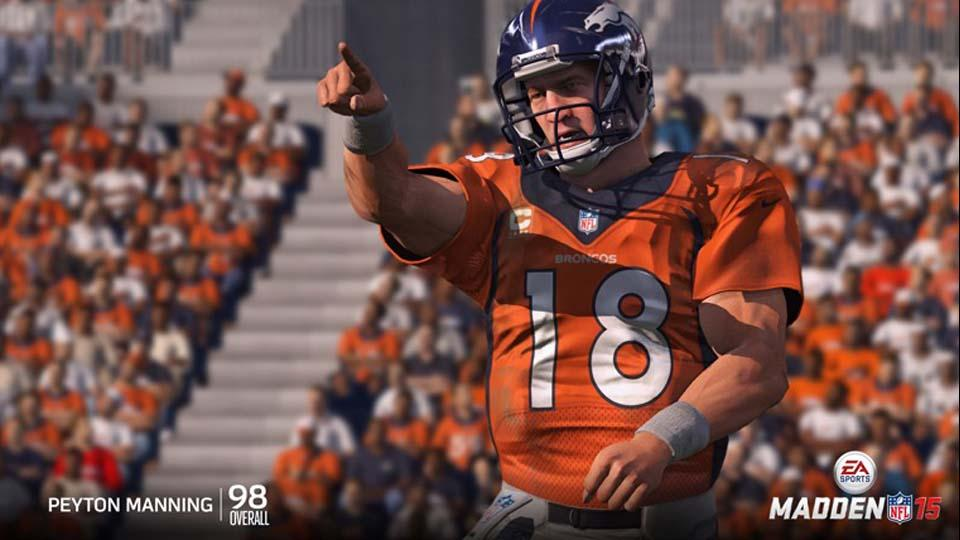 See the NFL's top 5 QB's as ranked by Madden 15