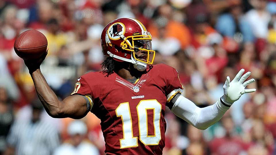 Robert Griffin III: 'Keep doubting. It's nothing new.'
