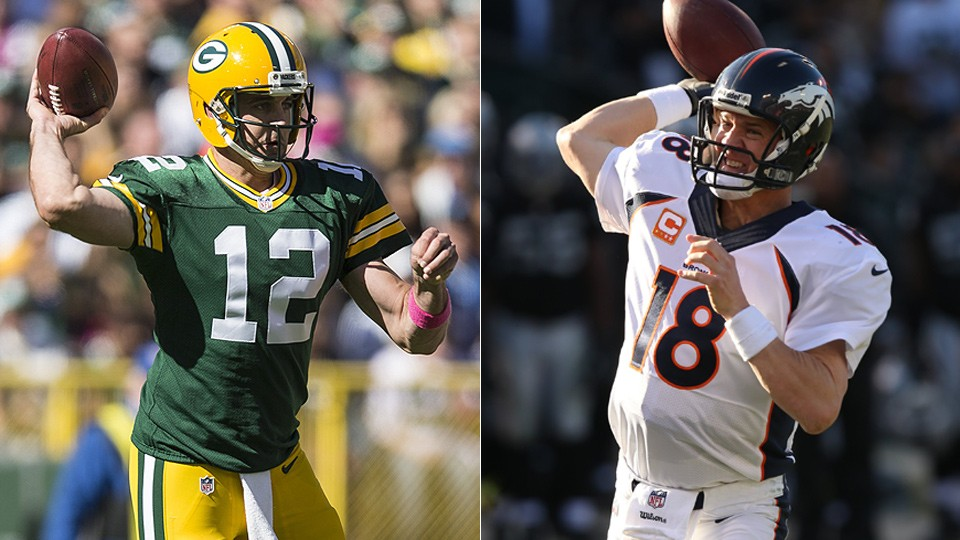 Fantasy football debate: Is Aaron Rodgers or Peyton Manning top QB?