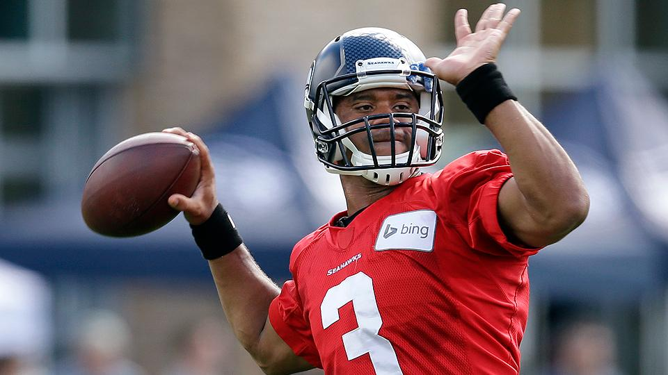 Russell Wilson has thrown just 800 to passes in two NFL regular seasons.