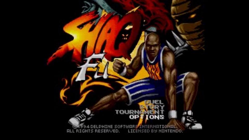 LeBron James memorized all the moves from Shaq Fu on Sega Genesis