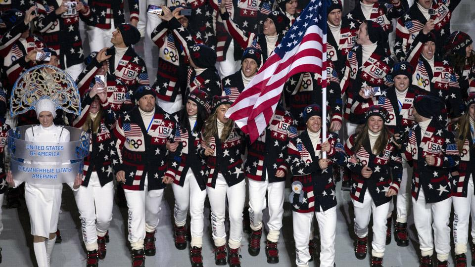 The 230 U.S. athletes at the Olympics in Sochi are the largest delegation for any country ever at the Winter Games.