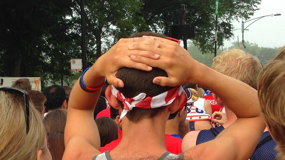 Scenes from Grant Park: Emotions of the dramatic USA-Portugal draw