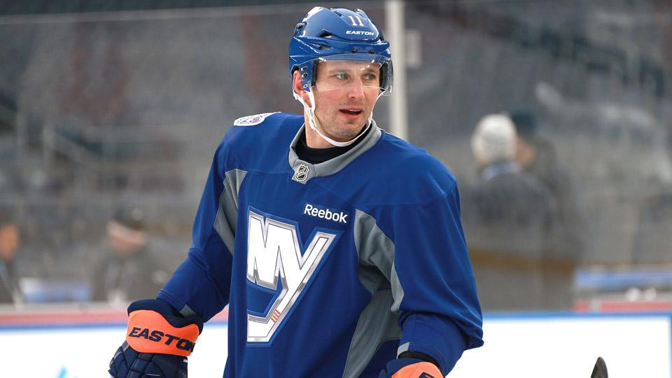 Concussion problems will keep Lubomir Visnovsky from playing with the Slovakian men's hockey team in Sochi.