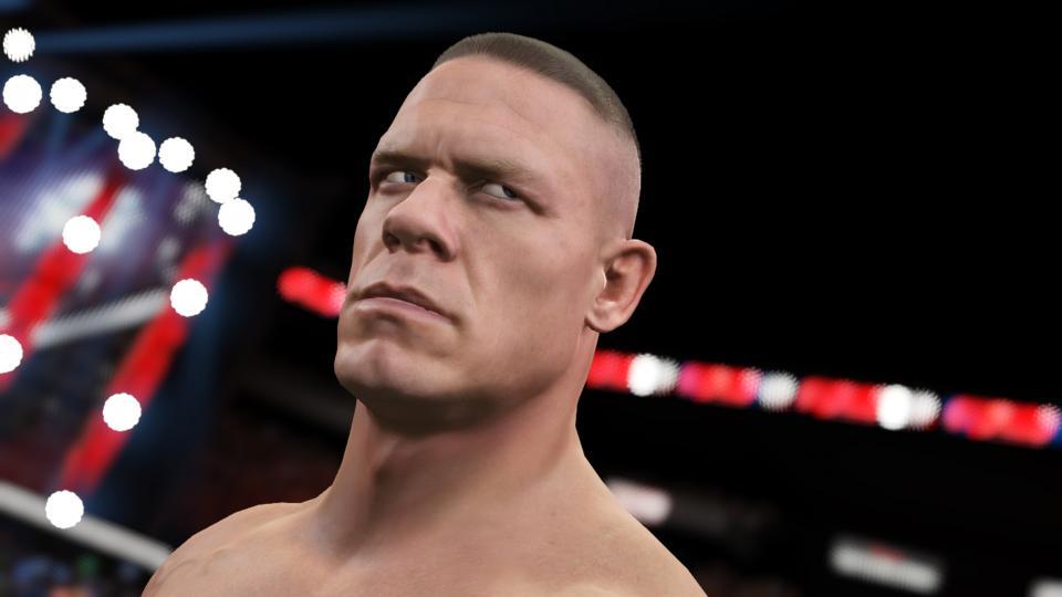 "WWE 2K15 lays visual smackdown with enhanced body scans, innovative ""beard tech"""