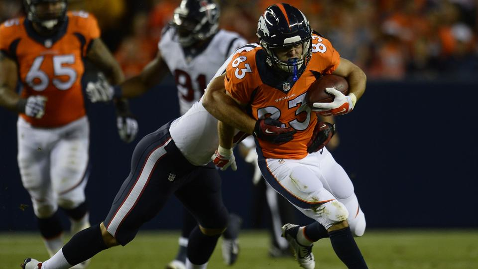 Wes Welker may miss the Broncos' first four games of the 2014 regular season.