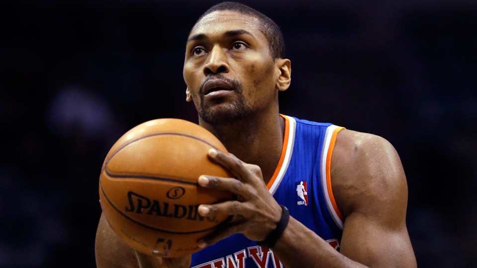 Metta World Peace headed to China to play for CBA's Sichuan Blue Whales