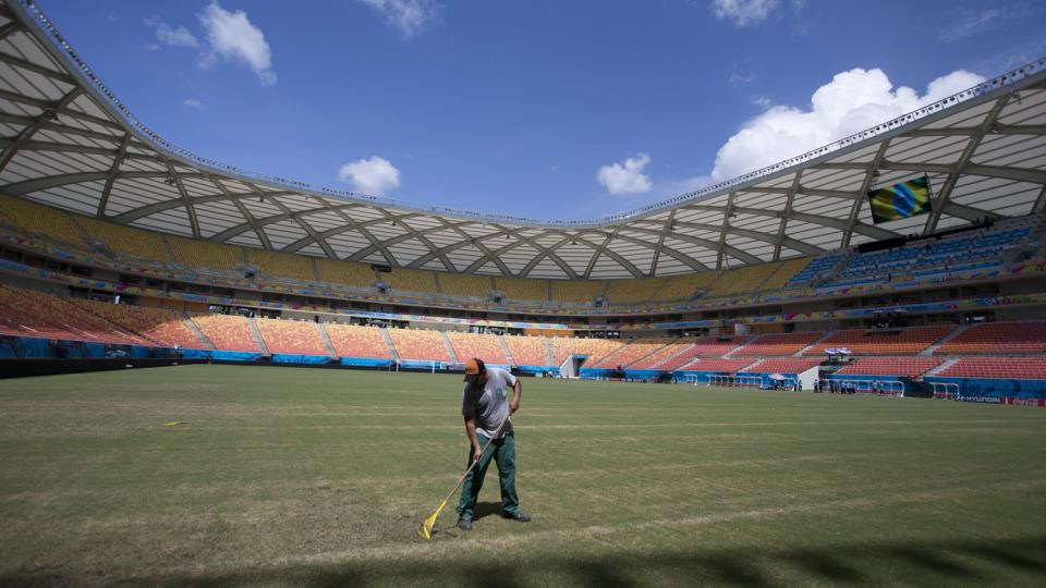 Greetings from Brazil: Building a World Cup stadium fit for the Amazon