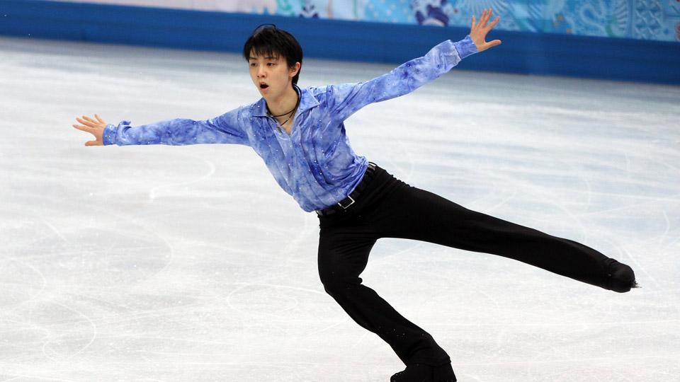 Yuzuru Hanyu of Japan will not skate Sunday night in the men's free skate portion, saving his energy for the individual men's competition.