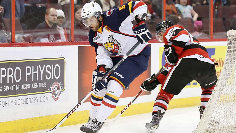 Barrie Colts defenseman Aaron Ekblad is only the third player, after John Tavares and Connor McDavid, to be admitted early to the OHL.