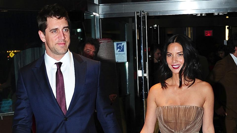 Watch this Packers fan react to receiving a signed jersey from Aaron Rodgers and Olivia Munn