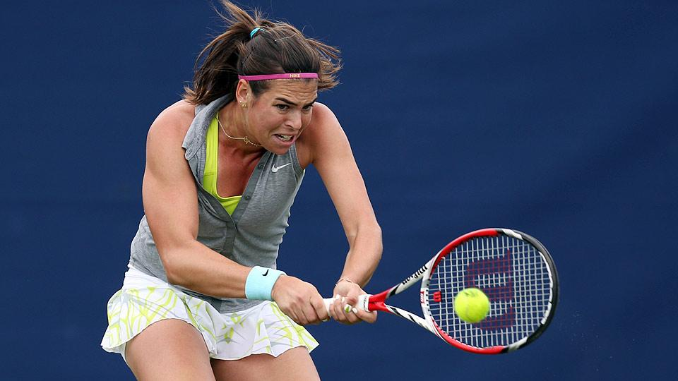 Ajla Tomljanovic reached a career high of No. 51 last month. She is currently ranked 55th.
