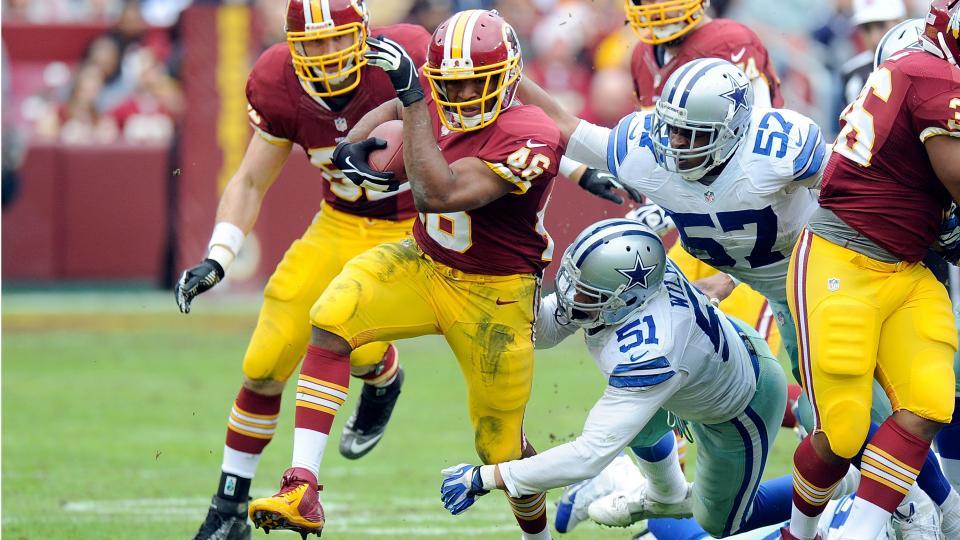 Robert Griffin III: Alfred Morris is Redskins' biggest offensive weapon