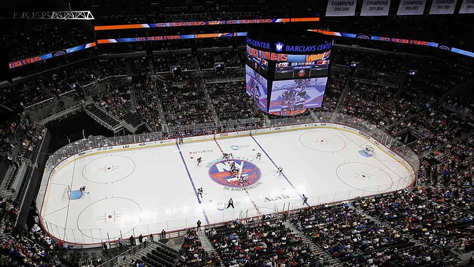 Brookyn's Barclays Center will host another preseason game by the Islanders, who will move there with their new owners in 2015.