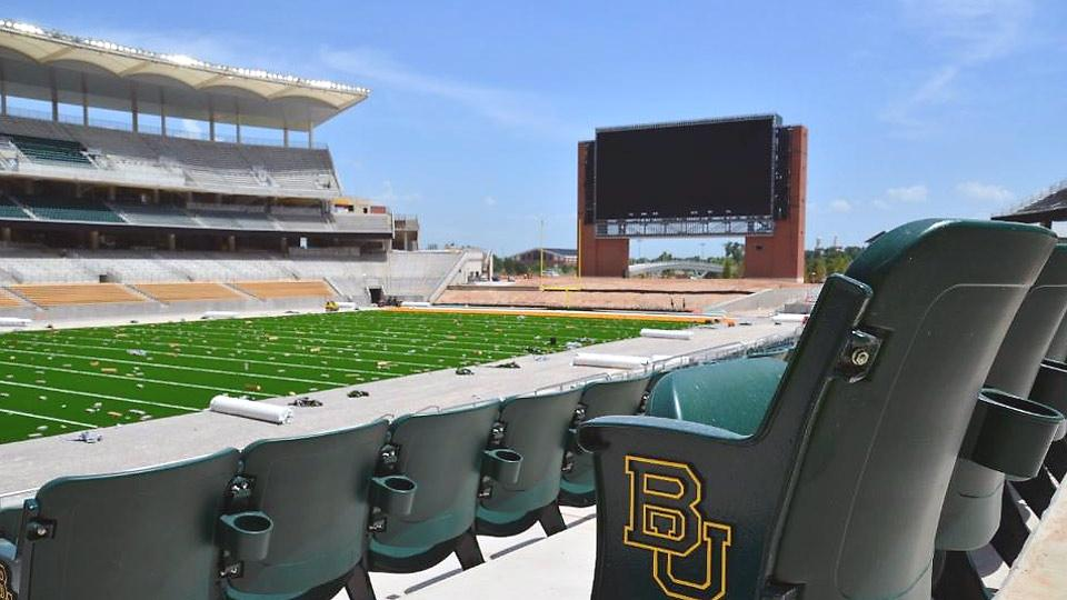 Baylor set to celebrate Big 12 title with opening of on-campus stadium