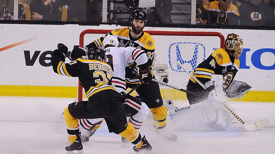Boston's Big Three of Patrice Bergeron (37), Zdeno Chara (33) and Tuukka Rask (40) may have one more Stanley Cup run left before it's time to reconfigure the Bruins.