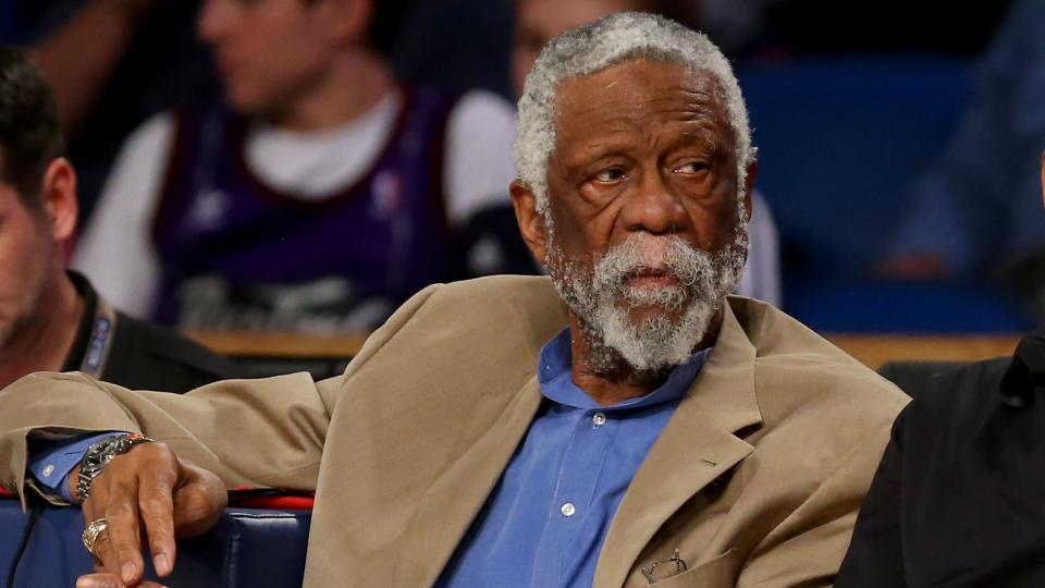 Report: Bill Russell collapses while giving speech, team says he is OK