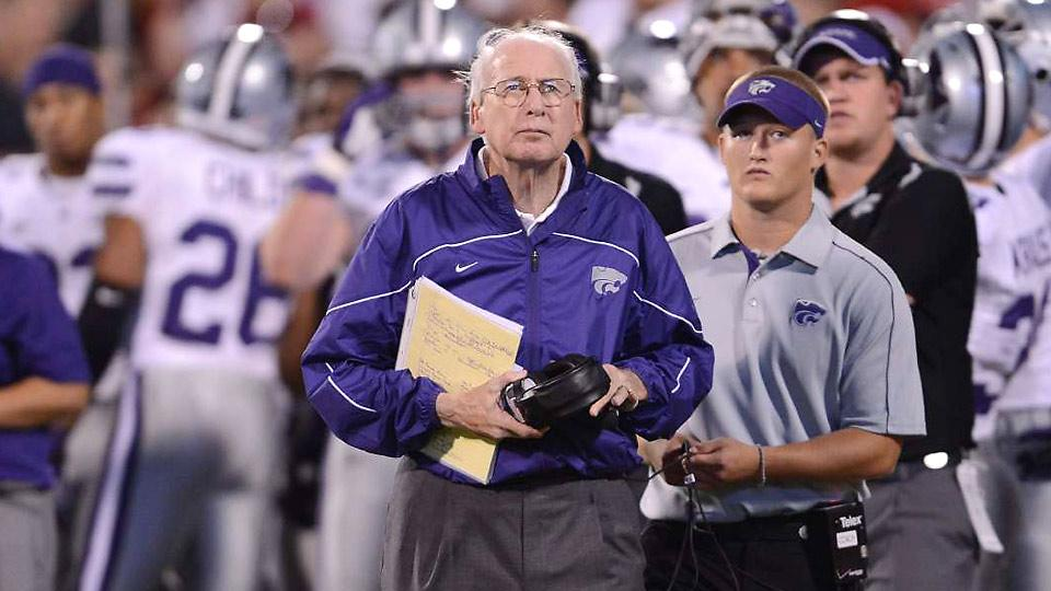 The one man to keep a volcano from ruining football? Bill Snyder