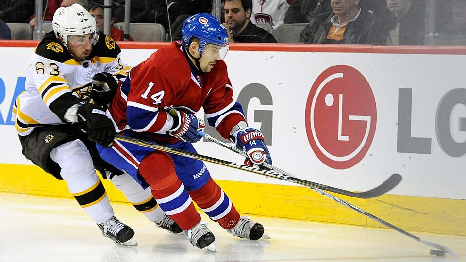 Bruins mega-pest Brad Marchand ignited a spicy little verbal salvo with his nemesis from Montreal, Tomas Plekanec.
