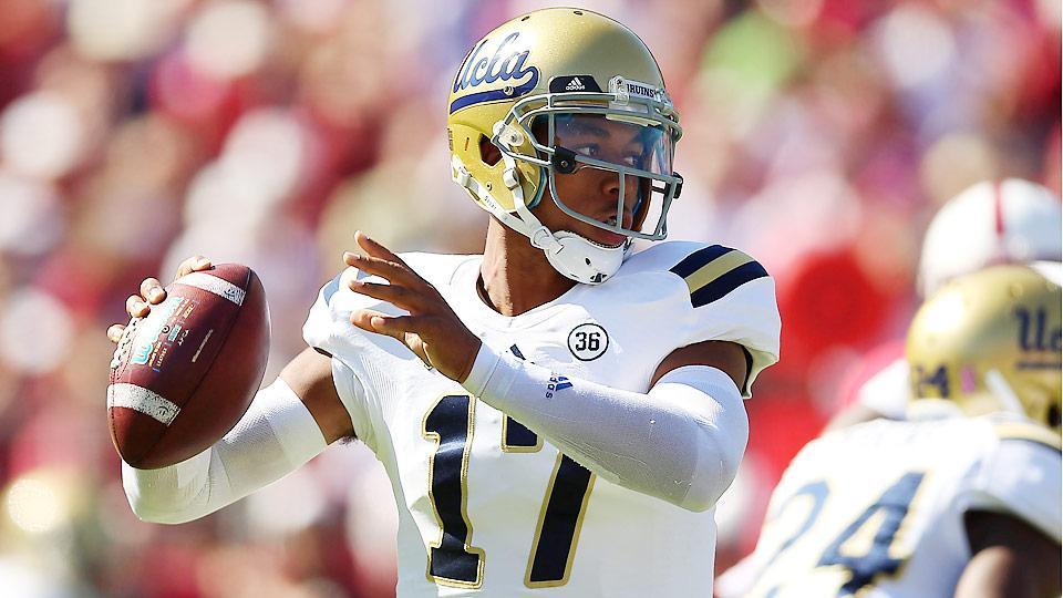 True Blue: UCLA's Brett Hundley preps for heralded year after passing on NFL