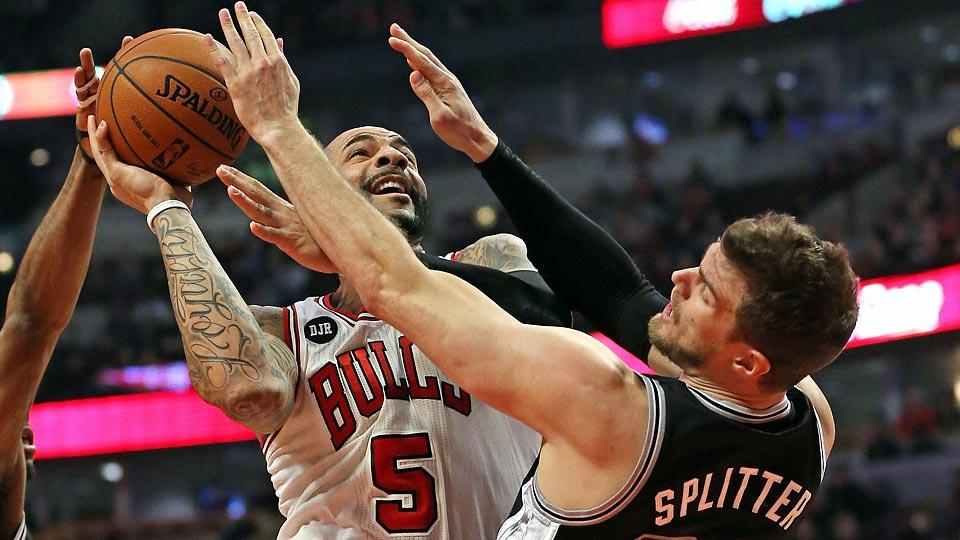 Power forward Carlos Boozer is headed to the Lakers after spending the last four seasons with the Bulls.
