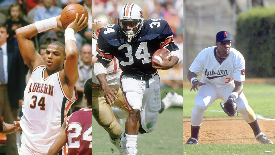 Charles Barkley, Bo Jackson and Frank Thomas star in documentary