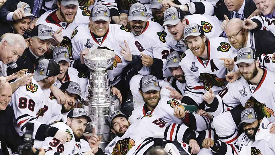Oddsmakers still favor Chicago Blackhawks to win 2015 Stanley Cup