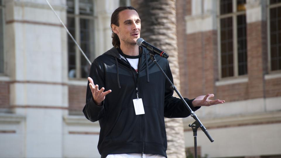 Chris Kluwe was released by the Vikings in 2013.