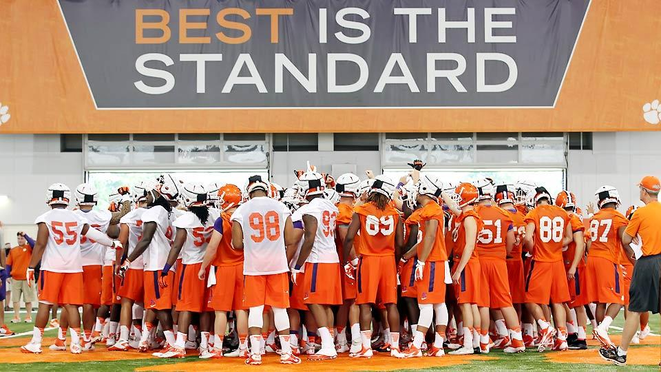 The end of Clemsoning? The mindset of Dabo Swinney's program in 2014