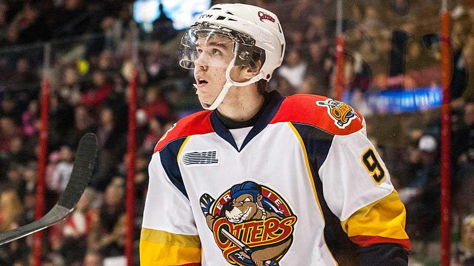 Center Connor McDavid of the OHL's Erie Otters is the most highly regarded NHL draft prospect since Sidney Crosby and will likely be taken No. 1 overall next year.