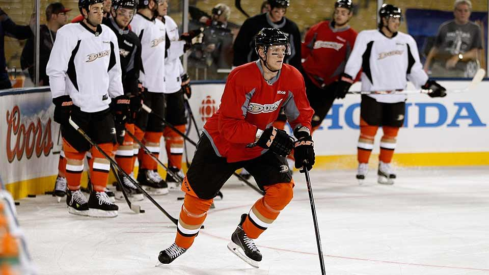 Among the Ducks'—and the division's—most significant jobs up for grabs during training camp is a top-line spot opposite winger Corey Perry.