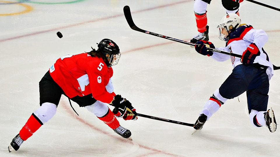 The heated USA-Canada women's hockey rivalry will rage once again with a gold medal on the line Thursday.