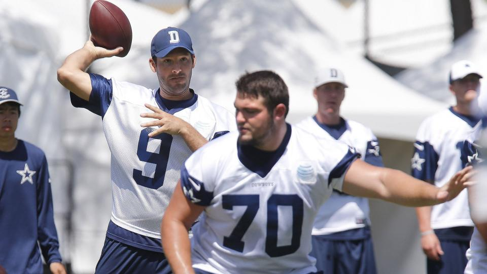 Dallas Cowboys release depth chart: Rookie Zack Martin on first team