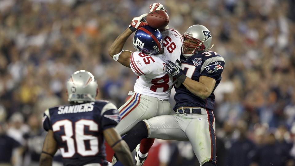 Giants name David Tyree director of player development