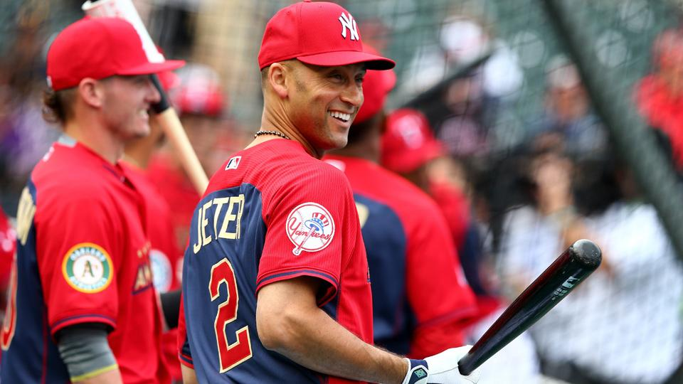 Derek Jeter will play in his 14th All-Star Game and make his ninth start as the American League takes on the National League at Target Field in Minneapolis.