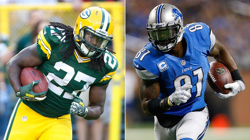 Fantasy football debate: Should owners target Megatron or Lacy?