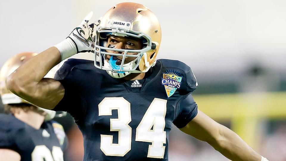 Notre Dame safety Eilar Hardy named in academic fraud investigation