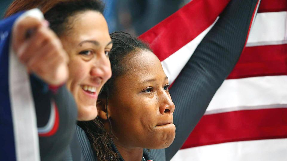 Though pleased with their silver medals, Elana Meyers and Lauryn Williams knew gold had been within their grasp Wednesday.