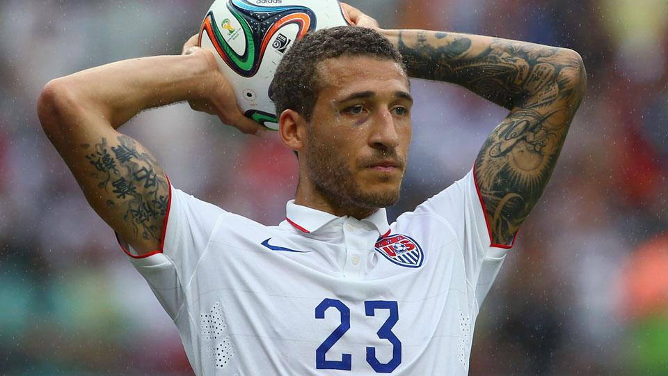 American defender Fabian Johnson is new to Borussia Monchengladbach this season.
