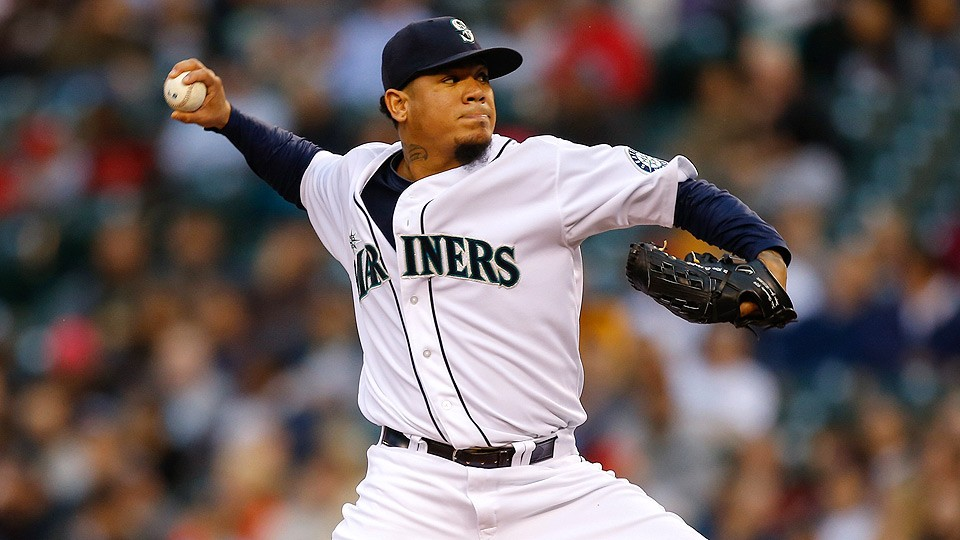 Felix Hernandez has surely made his fantasy owners very happy this season with his 2.12 ERA and 154 strikeouts.