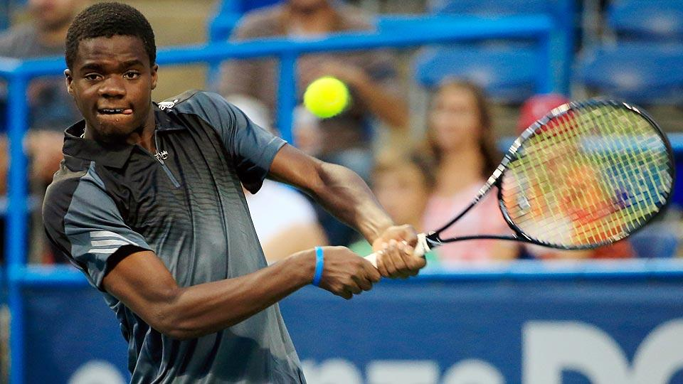 Francis Tiafoe, 16, lost in the first round of the Citi Open in his ATP Tour debut.