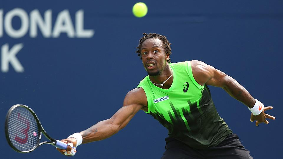 Watch: Hot-shot extraordinaire Gael Monfils on strategy and shotmaking