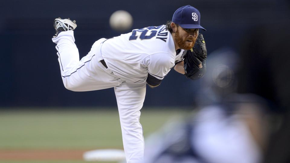 Report: Padres' price high on pitchers Ian Kennedy, Joaquin Benoit