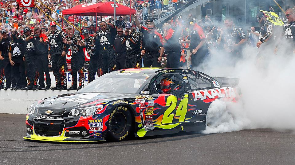 It's 'Jeff Gordon Day' at Indy for record 5th time