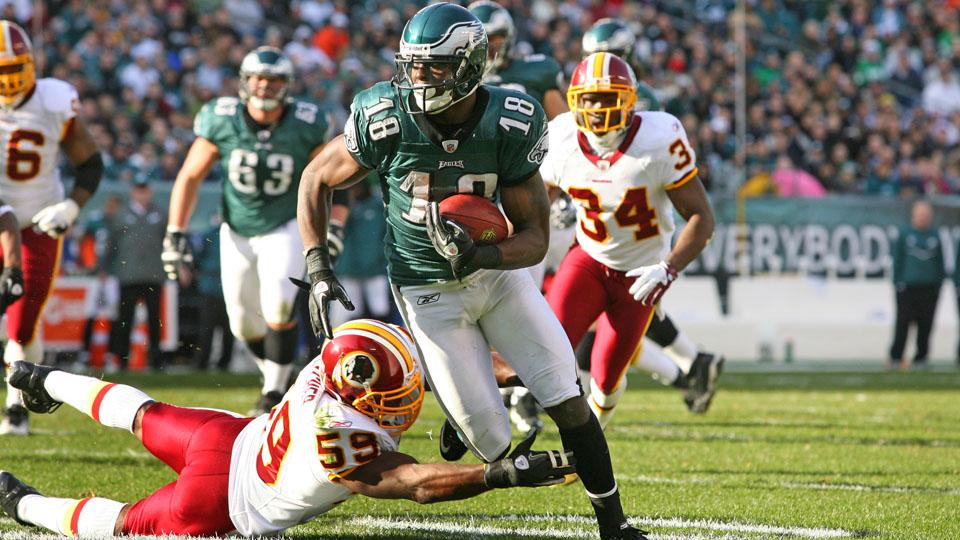 Eagles wide receiver Jeremy Maclin feels faster after ACL rehab