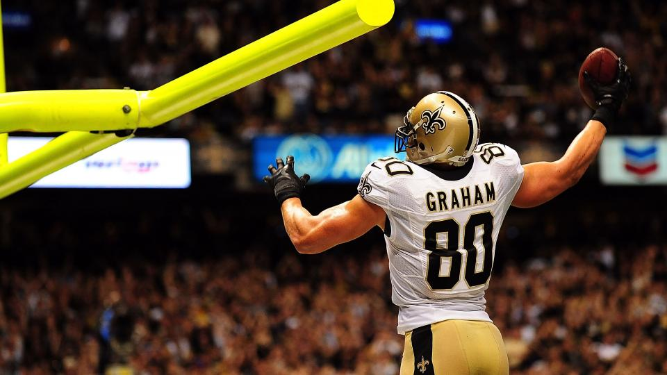 Saints tight end Jimmy Graham: 'I didn't get into football for litigation'