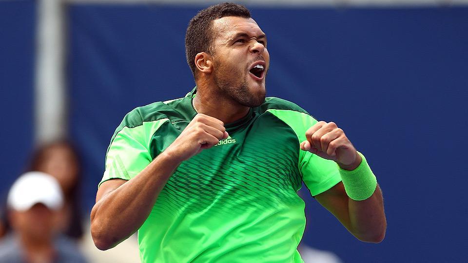 Tsonga stuns Djokovic, Anderson upsets Wawrinka at Rogers Cup