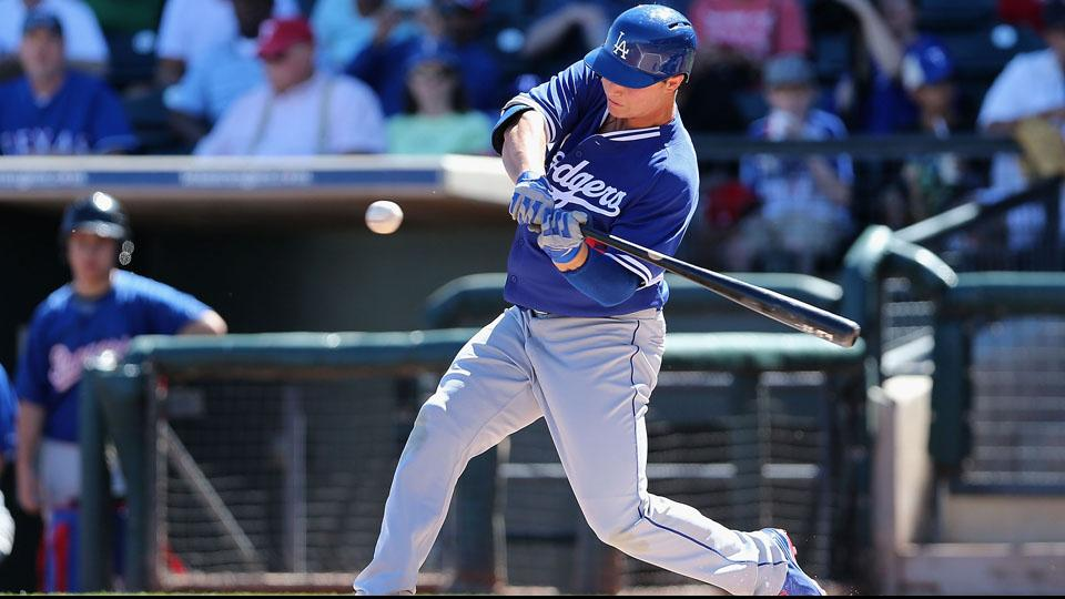 The gameday roster addition of Joc Pederson, pictured in spring training with the Dodgers, has caused Albequerque to forfeit a game.
